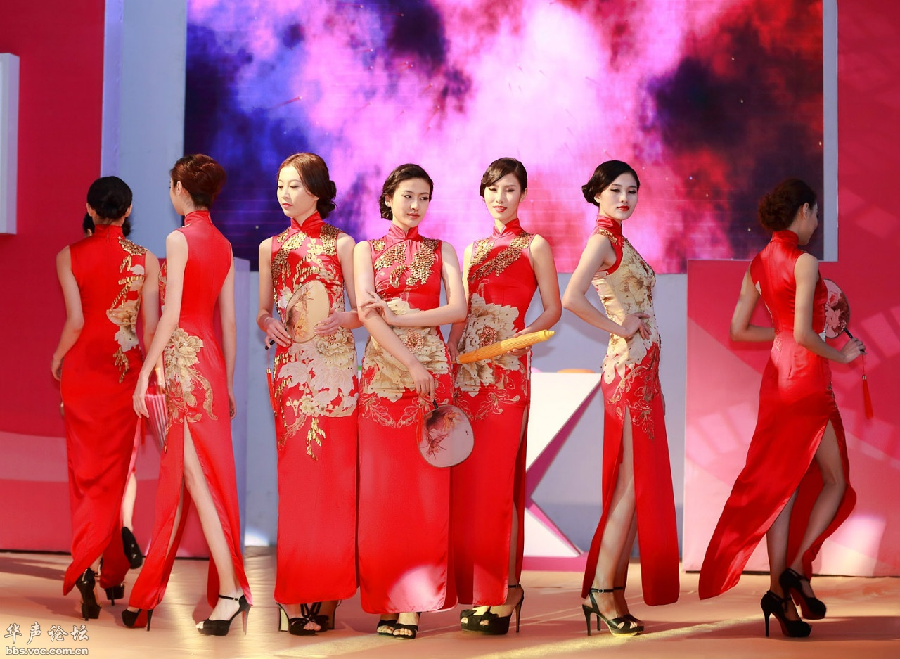模特大赛旗袍秀 - 花開有聲 - 花開有聲