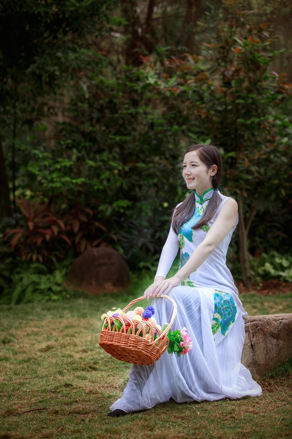 旗袍美女 - 花開有聲 - 花開有聲