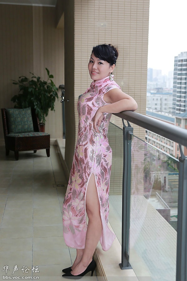 丰满女人  时尚旗袍 - 花開有聲 - 花開有聲