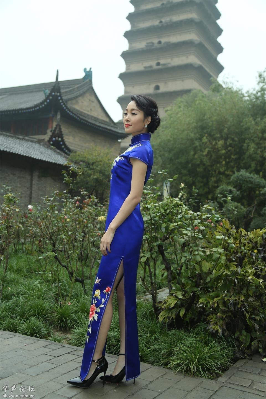 风韵少妇  漂亮旗袍 - 花開有聲 - 花開有聲