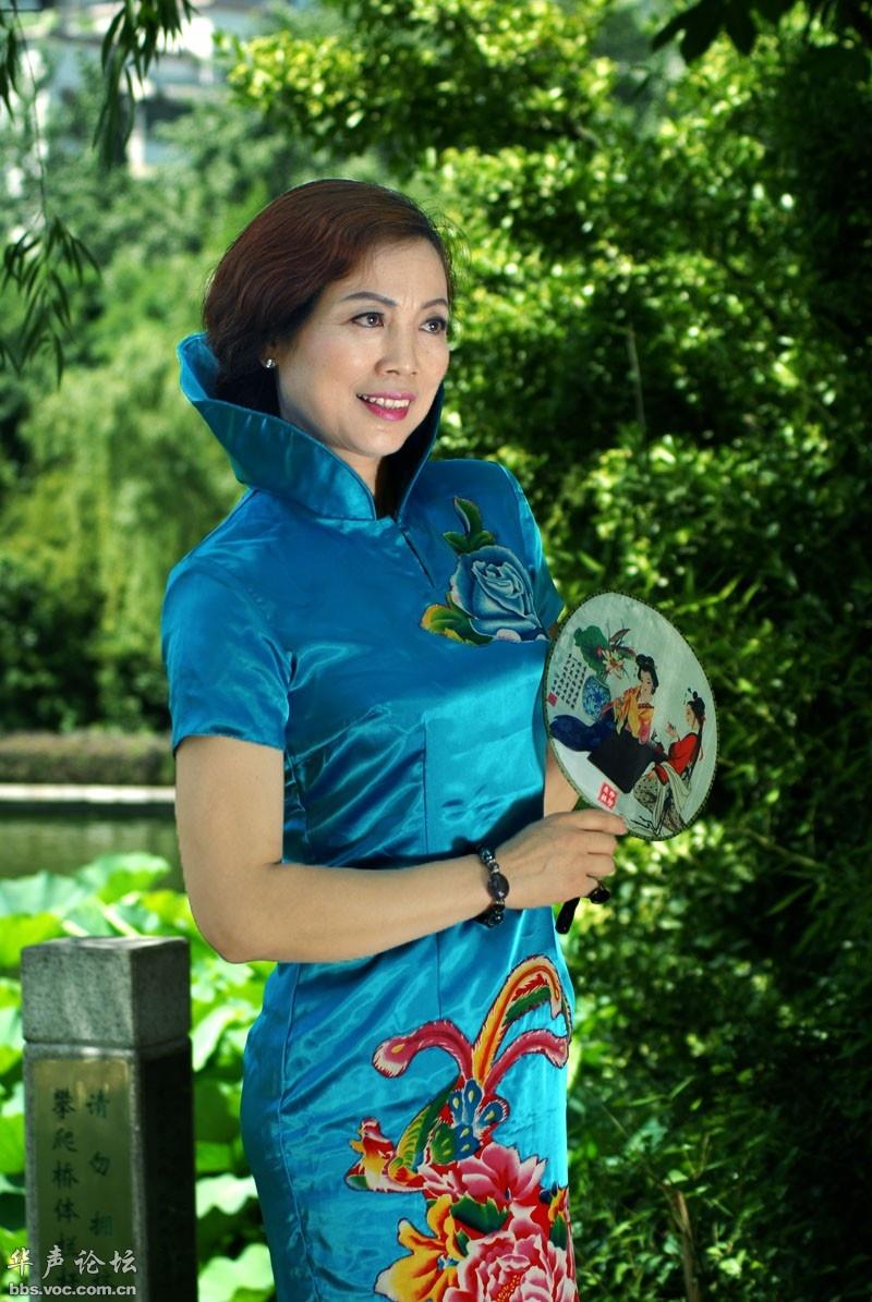 庆丰公园旗袍秀 - 花開有聲 - 花開有聲