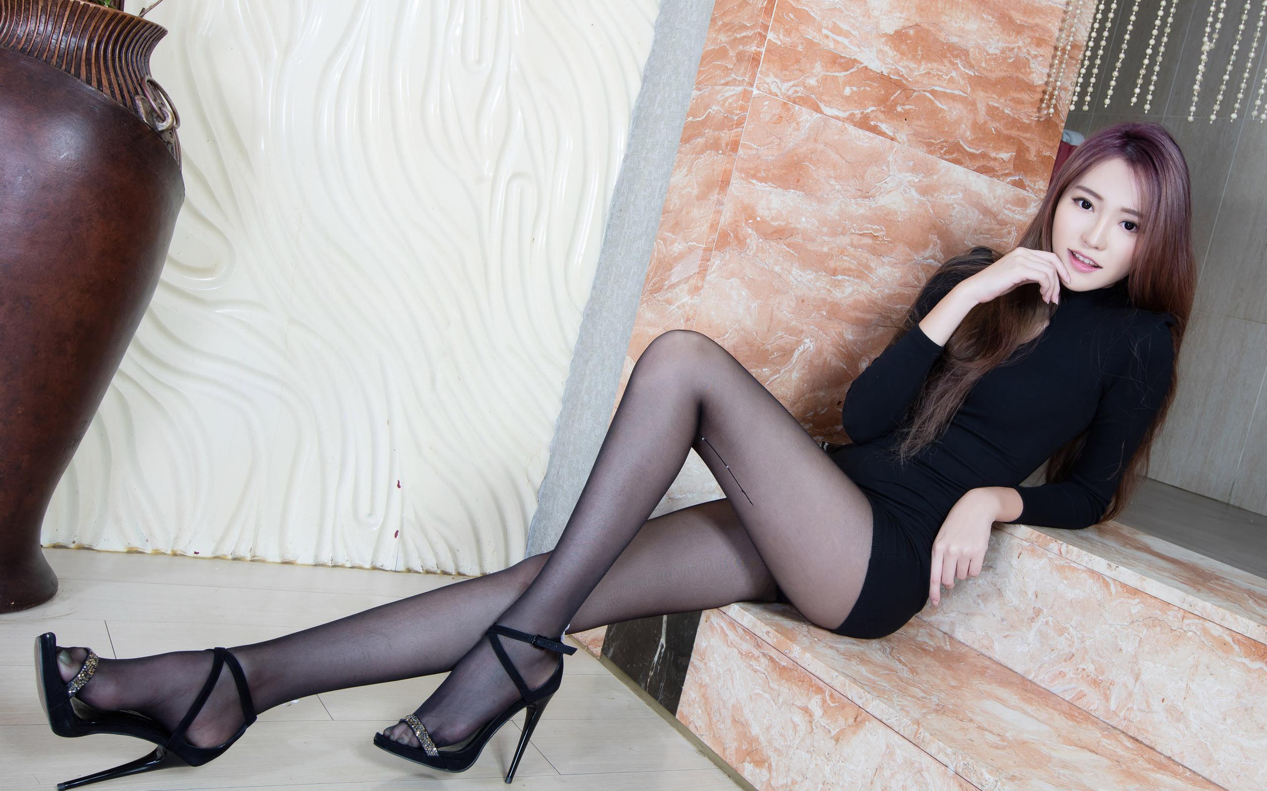 臺灣美腿美女Ning2 - 花開有聲 - 花開有聲