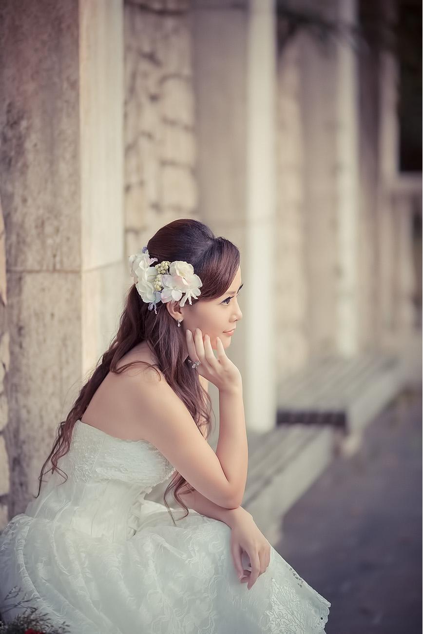 成熟女人  夕照婚纱 - 花開有聲 - 花開有聲