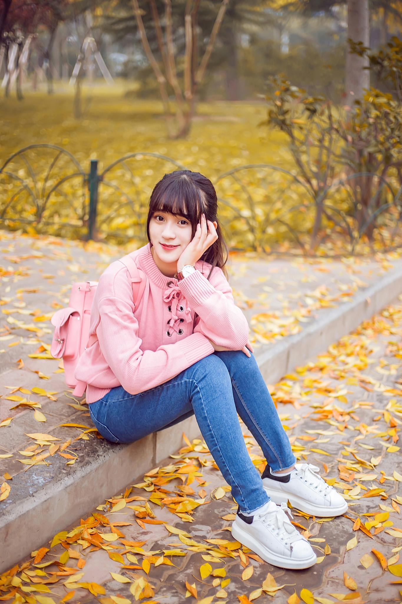 【人像摄影】金 黄 大 地  - 花仙子 - heisemeigui的的博客