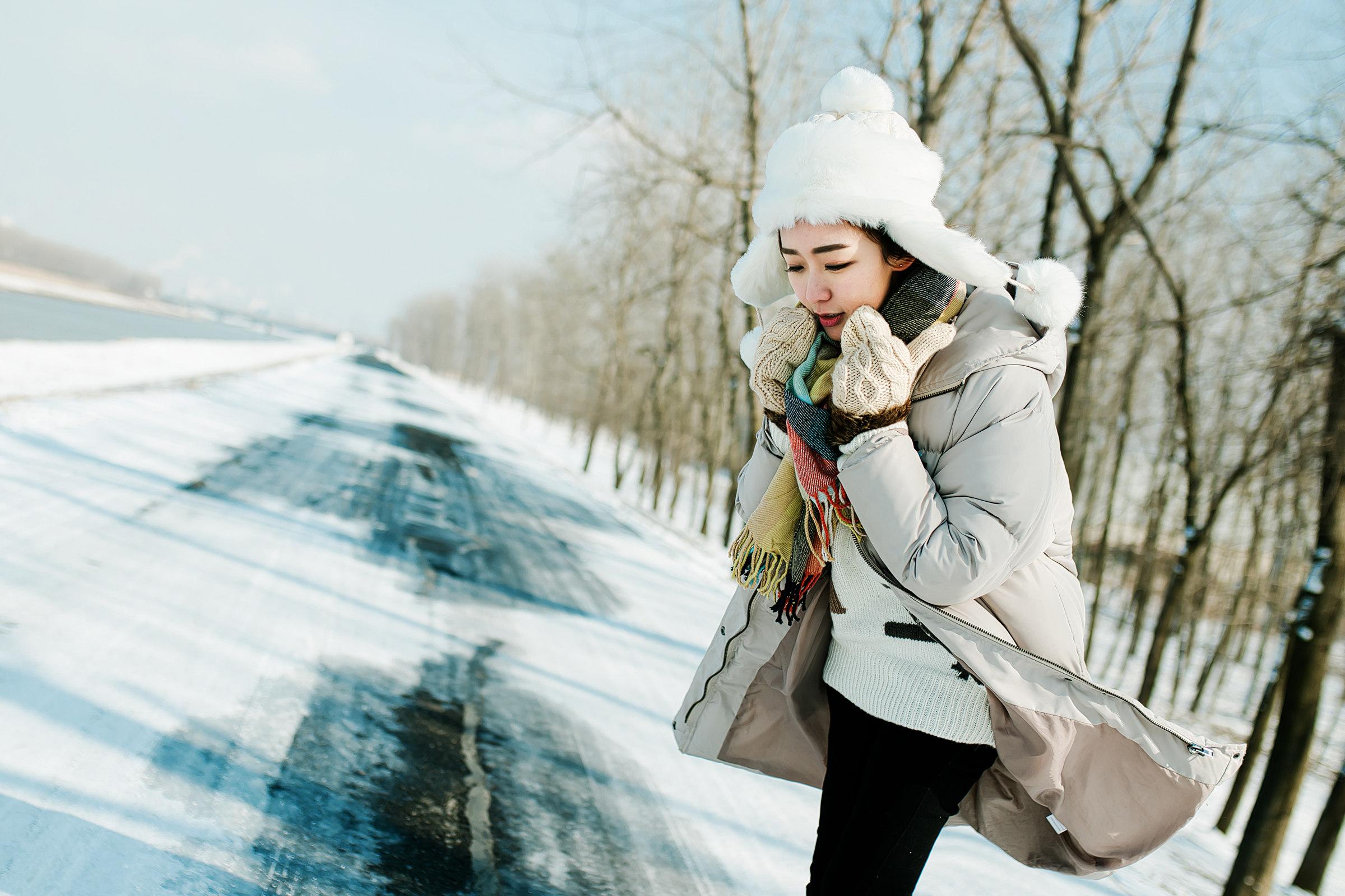 【人像摄影】冬雪恋歌  -  花仙子 - 花仙子的网易博客