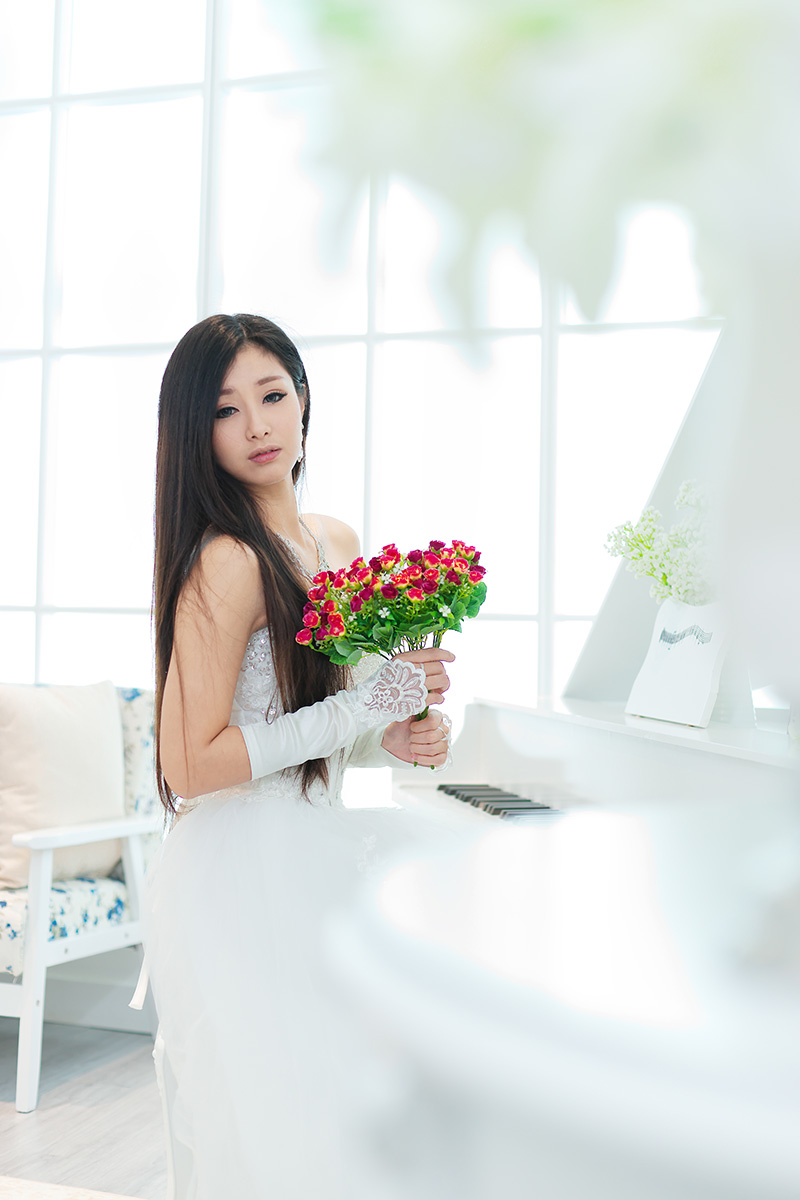 【浪漫婚纱素材篇】非常漂亮新娘 - 浪漫人生 - .