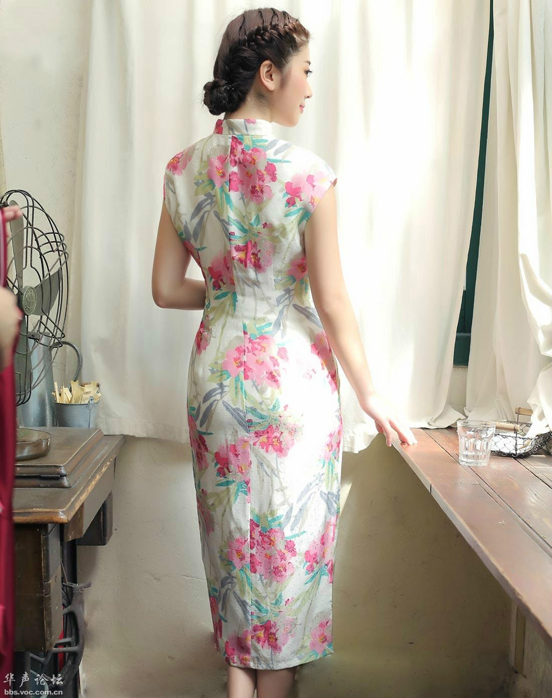 清秀文雅旗袍小妹 - 花開有聲 - 花開有聲