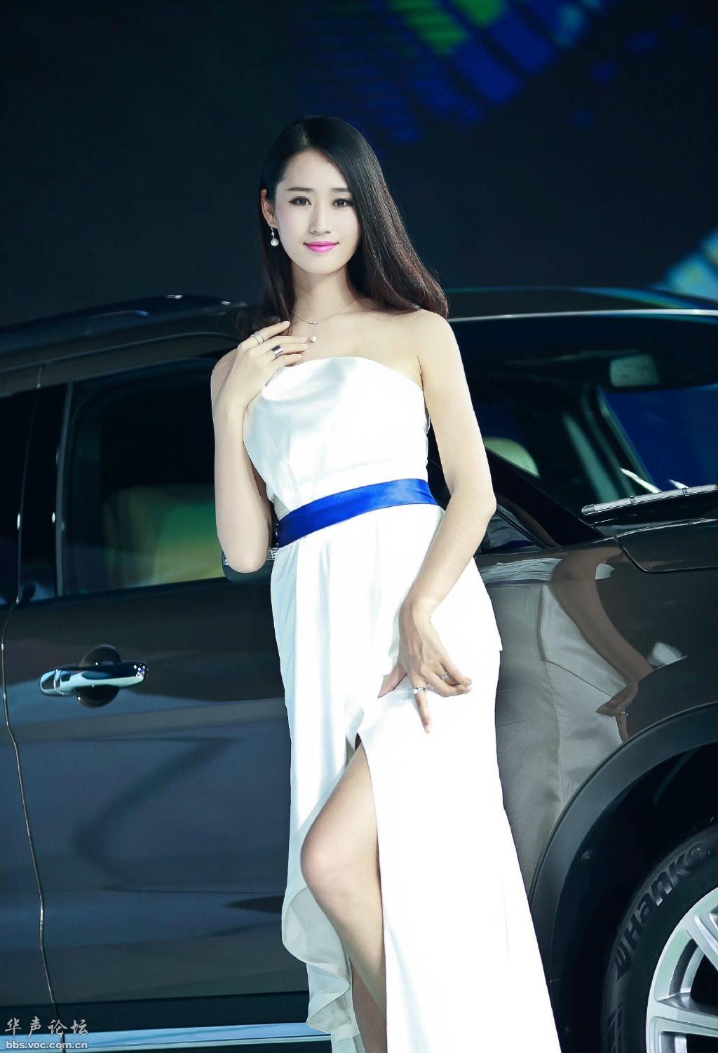 日本车模被打_韩国长腿美女车模 - 美女贴图 - 华声论坛