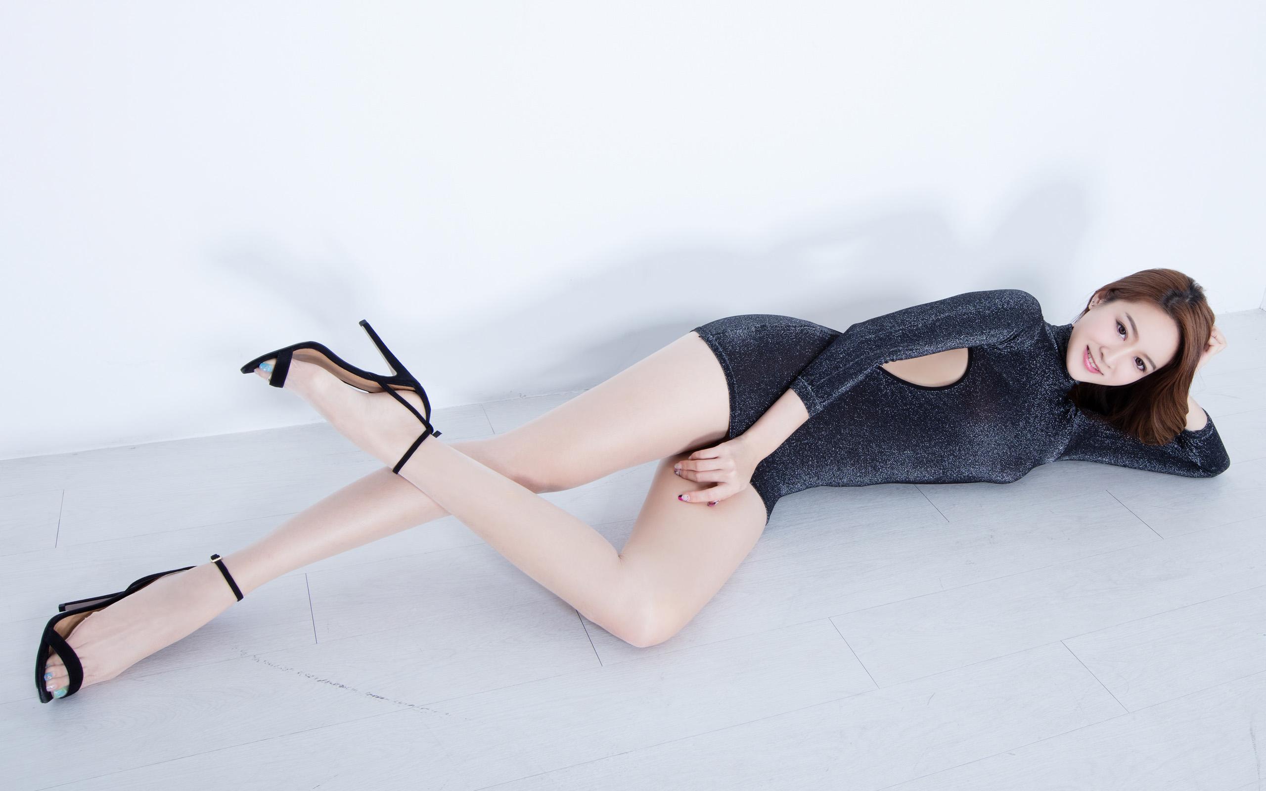 臺灣美腿美女Kaylar - 花開有聲 - 花開有聲