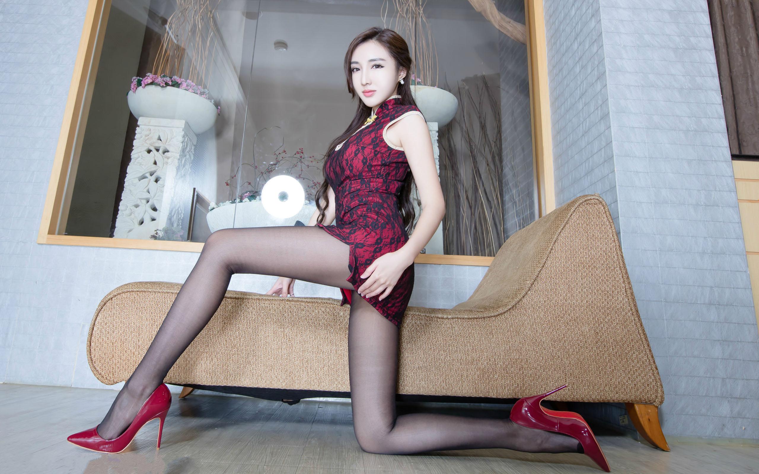 臺灣美腿美女Syuan1 - 花開有聲 - 花開有聲