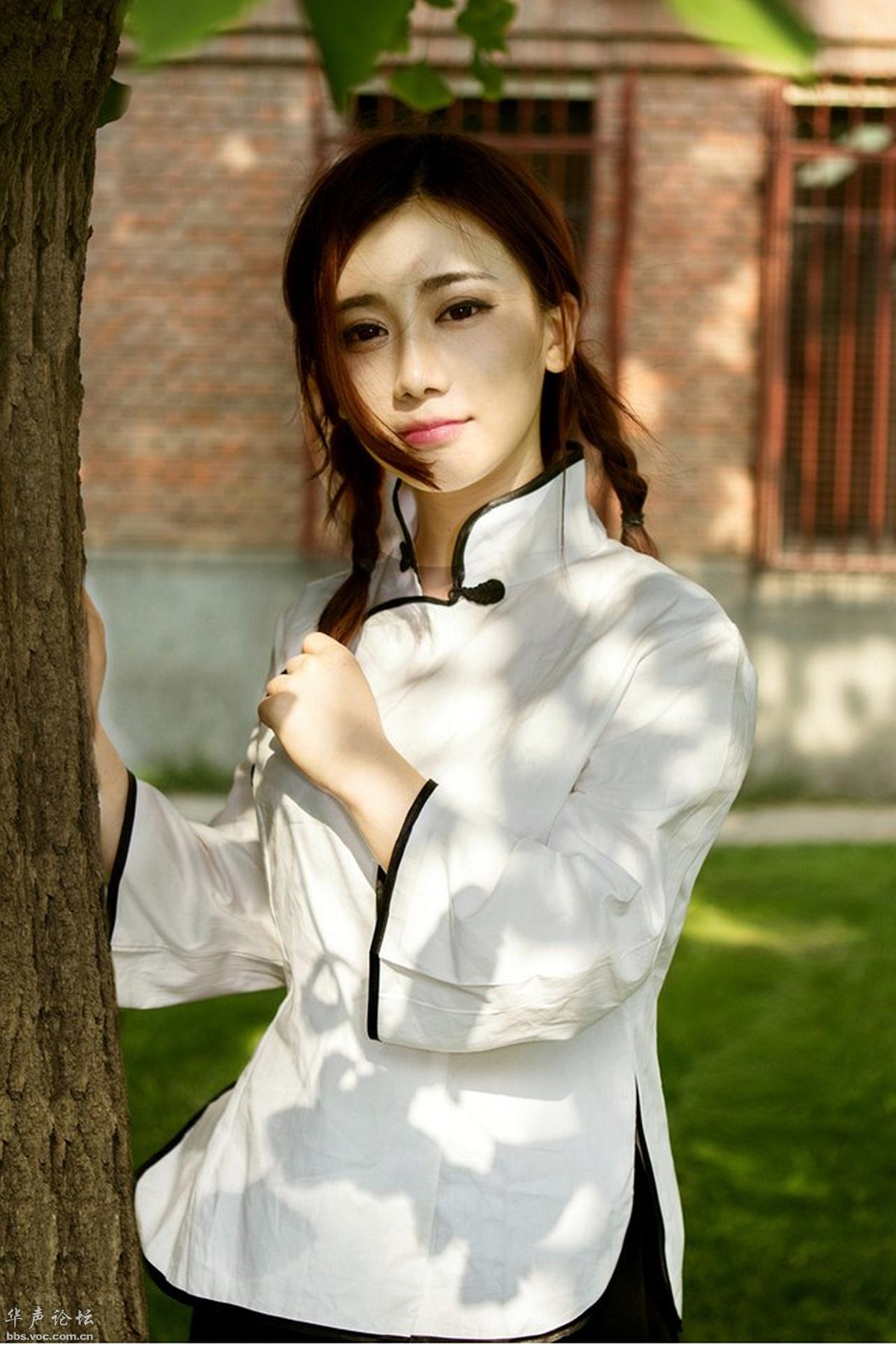 清华园里的民国风格女生 - 花開有聲 - 花開有聲