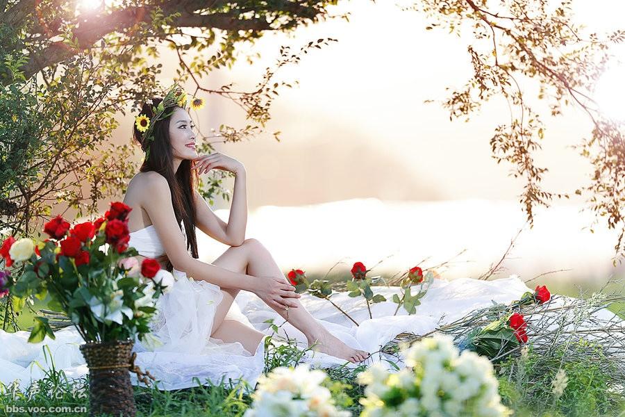幸福美女 - 花開有聲 - 花開有聲