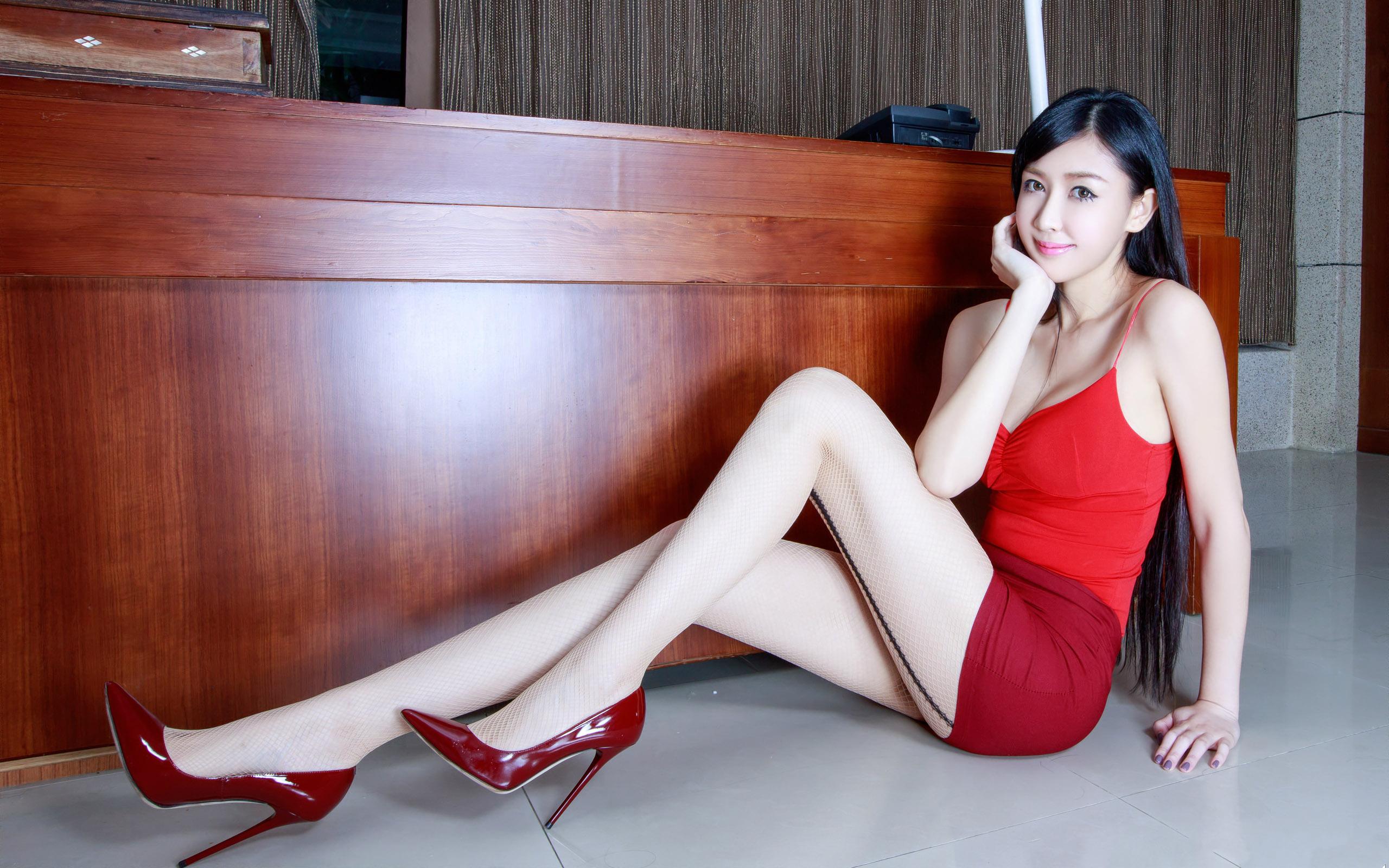 臺灣美腿美女Vanessa1 - 花開有聲 - 花開有聲