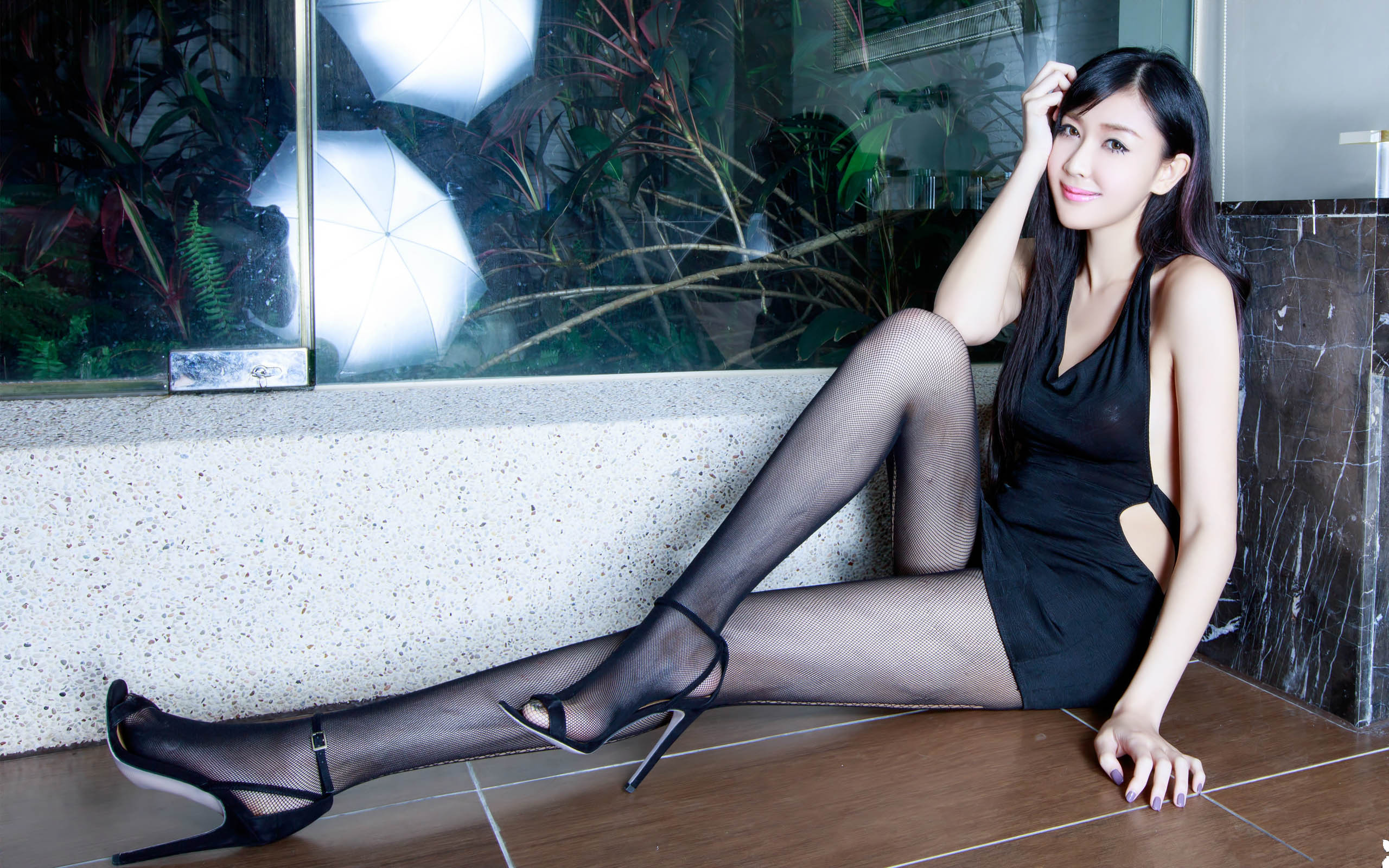 臺灣美腿美女Vanessa2 - 花開有聲 - 花開有聲
