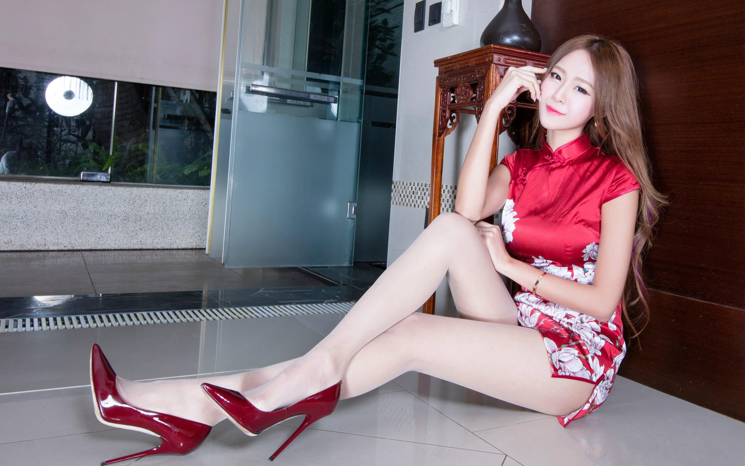 臺灣美腿美女Winnie1 - 花開有聲 - 花開有聲