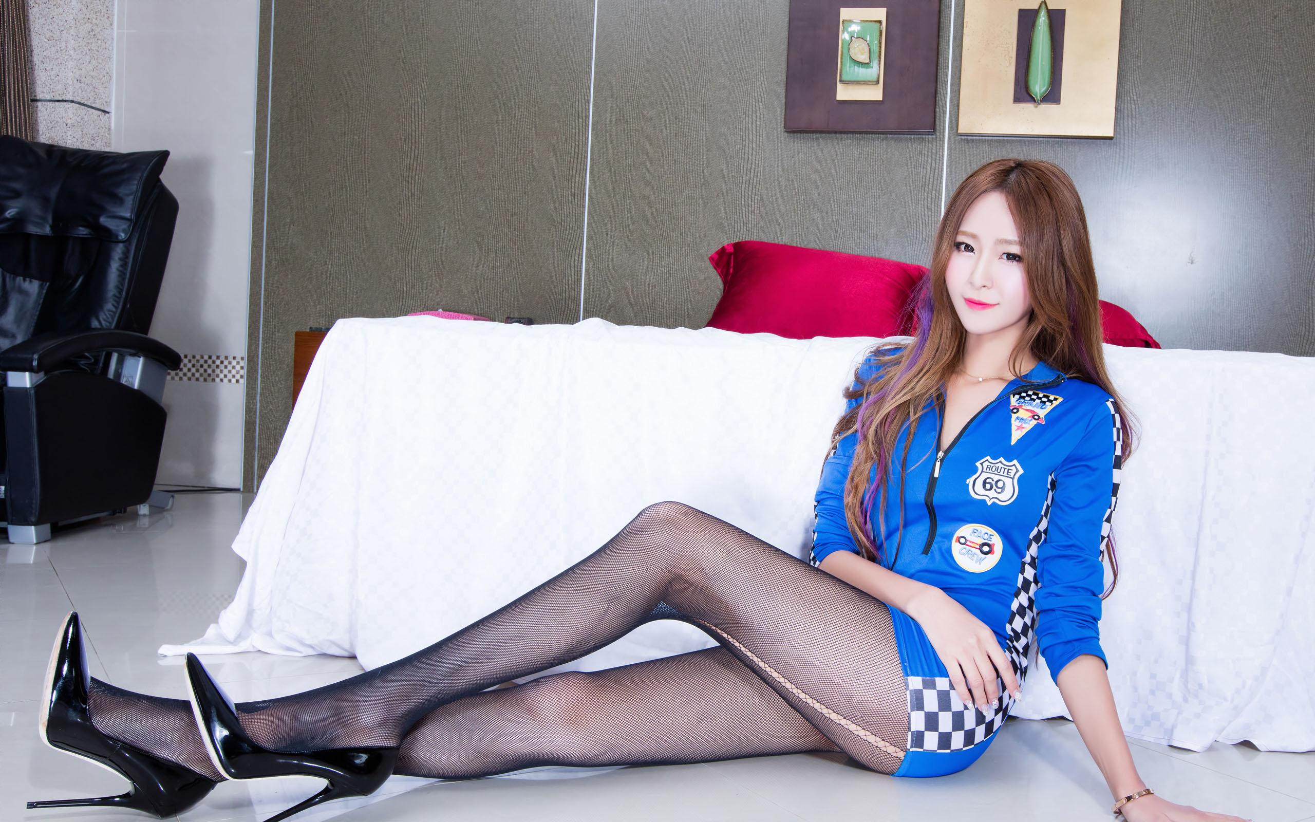 臺灣美腿美女Winnie2 - 花開有聲 - 花開有聲