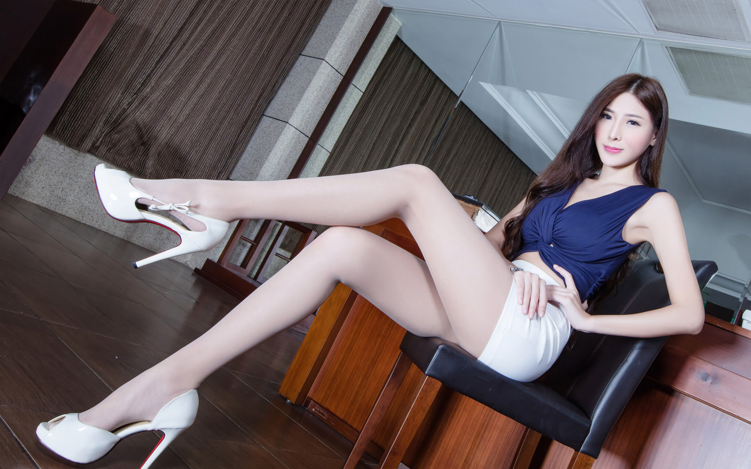 臺灣美腿美女Xin1 - 花開有聲 - 花開有聲