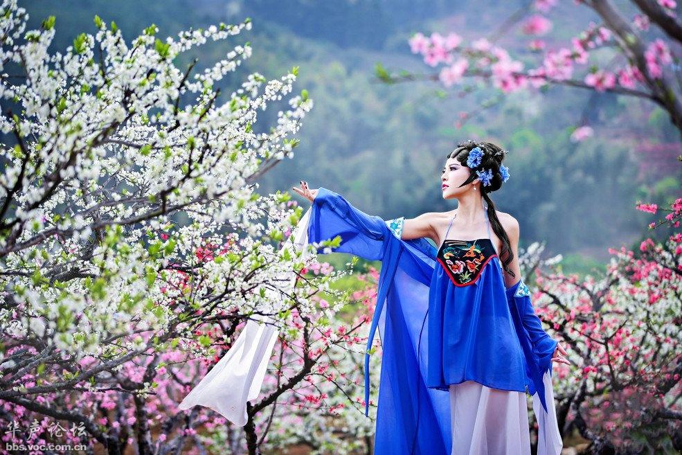 古韵~春色满园 - 花開有聲 - 花開有聲