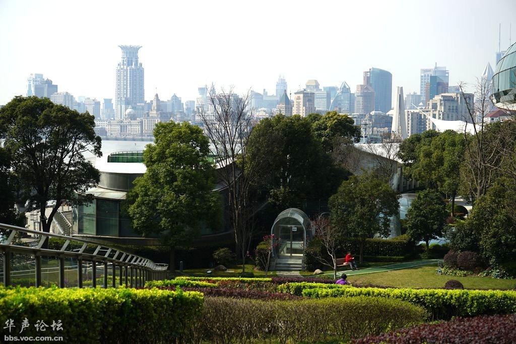 上海北外滩滨江绿地公园