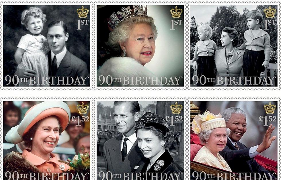乔治小王子抢镜 英国女王90大寿四世同堂图片