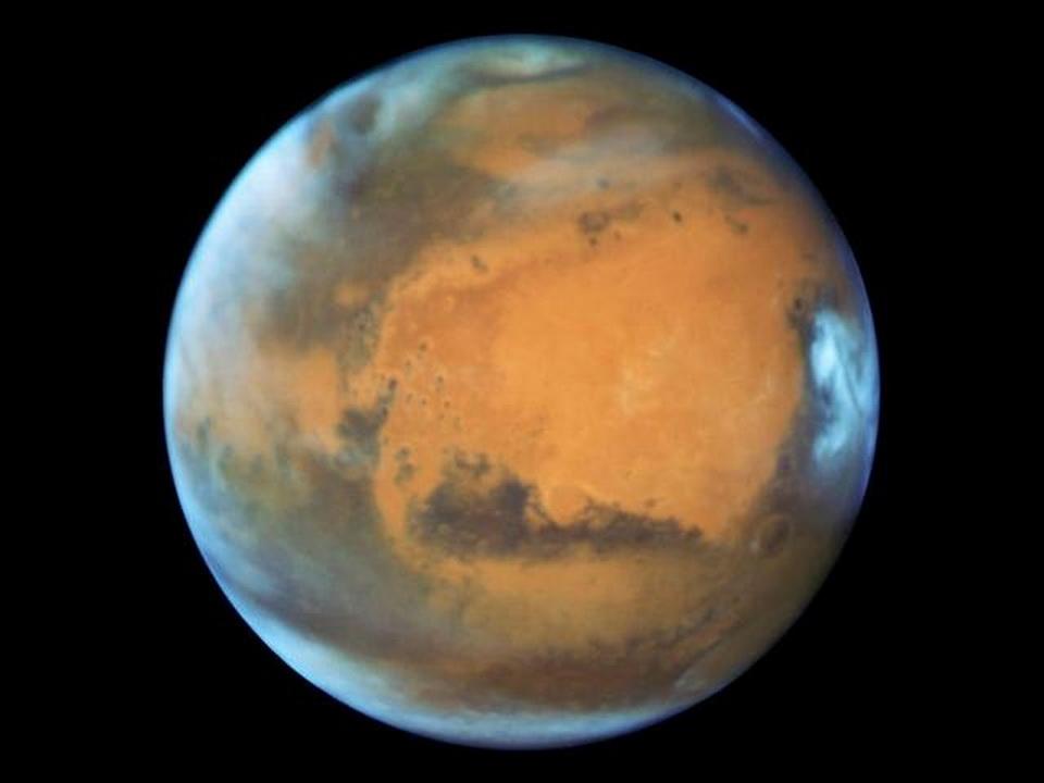 哈勃太空望远镜再立功 拍摄到最清晰火星照
