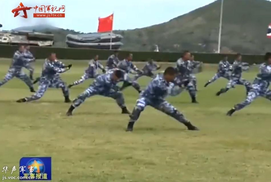 中泰海军陆战队联训图片