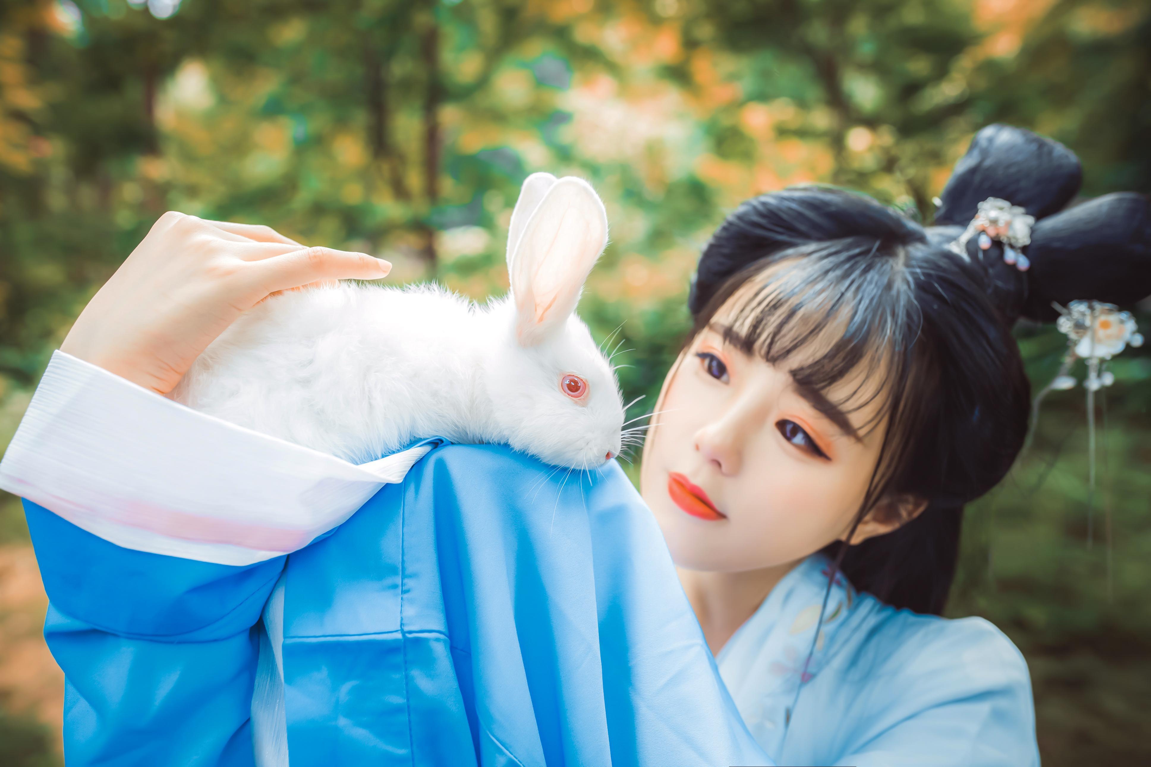 玉兔煴香柳如梦