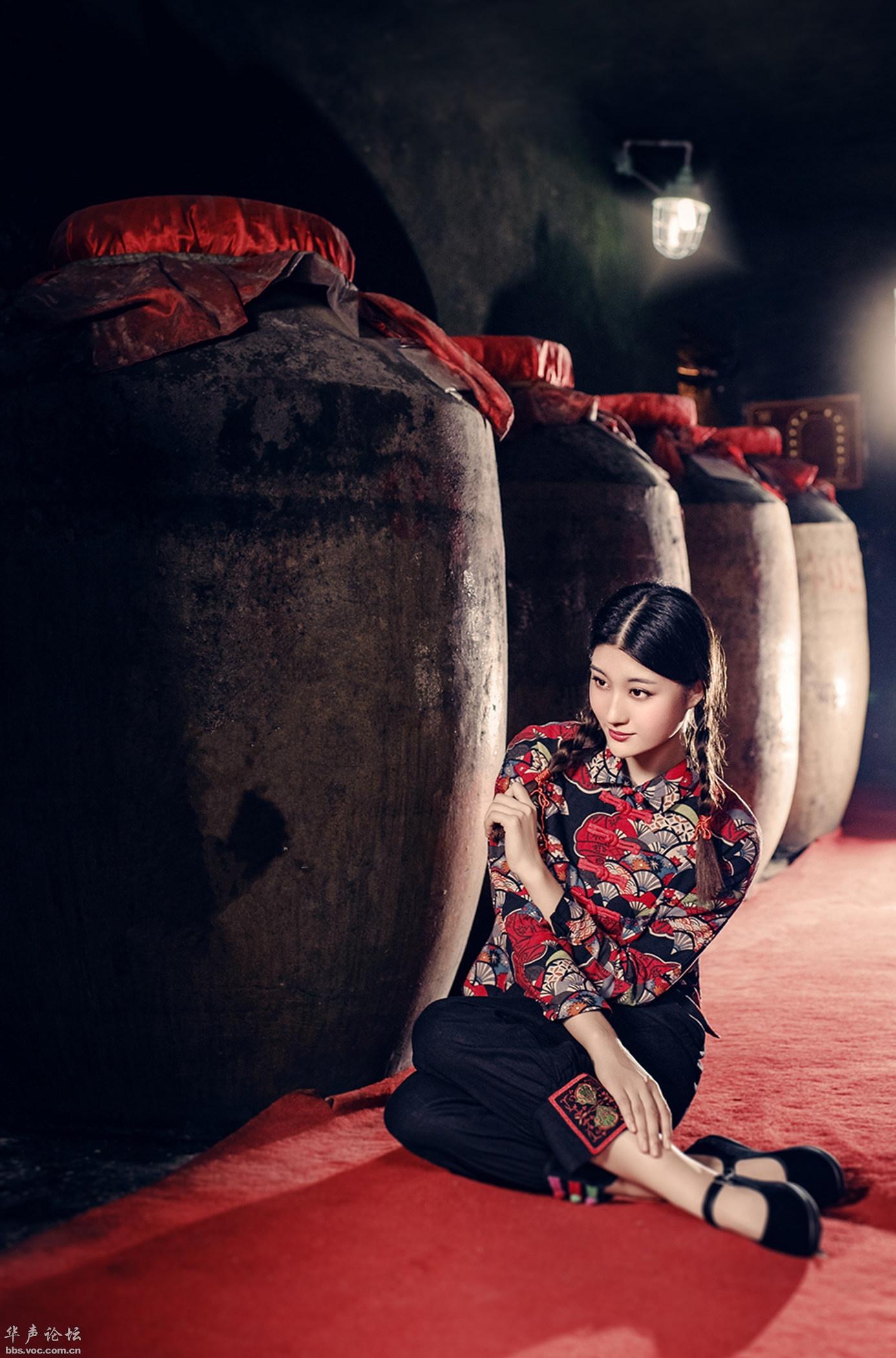【人像摄影】酒醇 人美 看看也醉了  -  花仙子  -  花仙子的博客.-  花仙子  -  花仙子的博客.