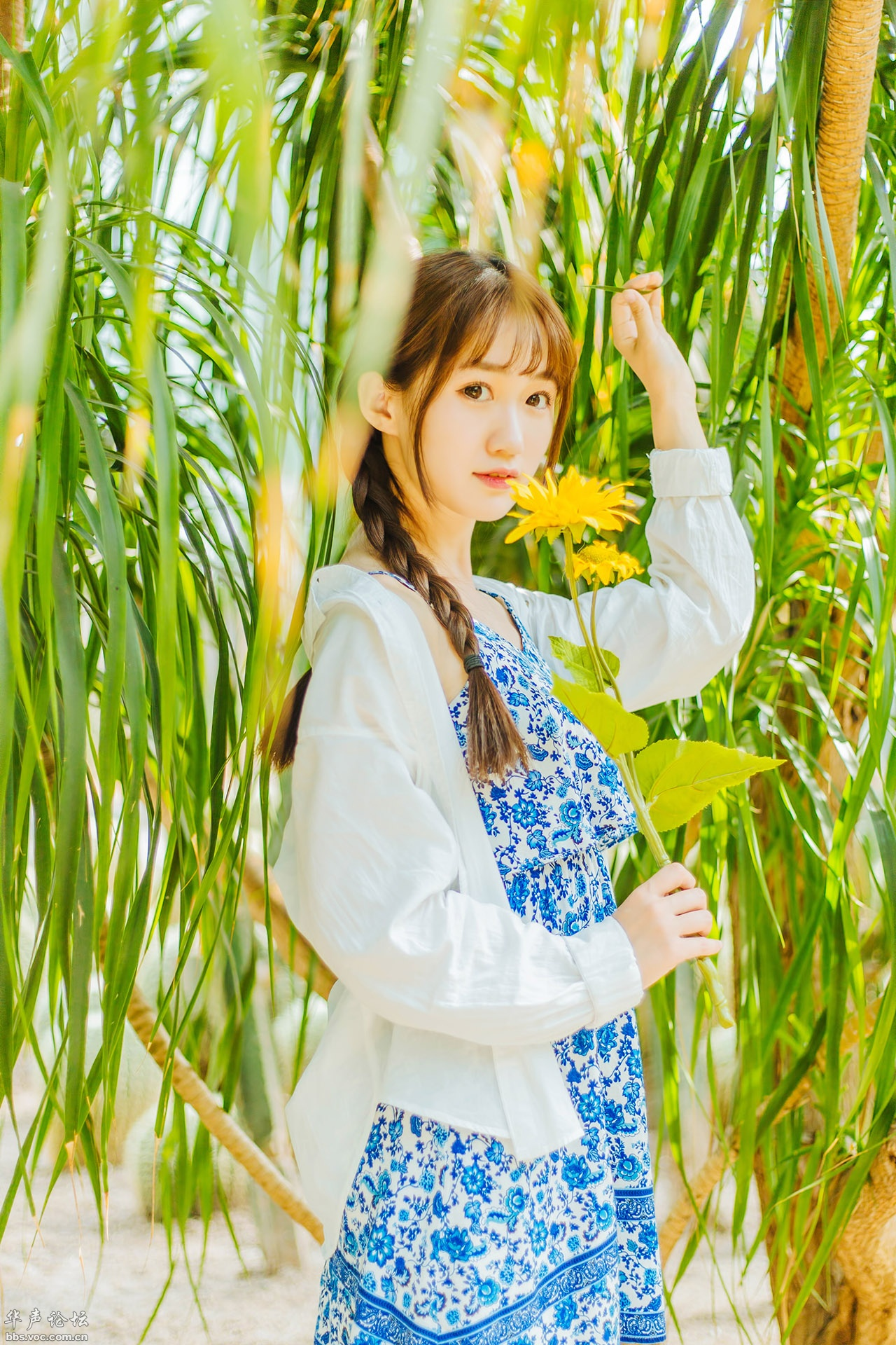 【人像摄影】木木子的夏天  -  花仙子  -  花仙子的博客.