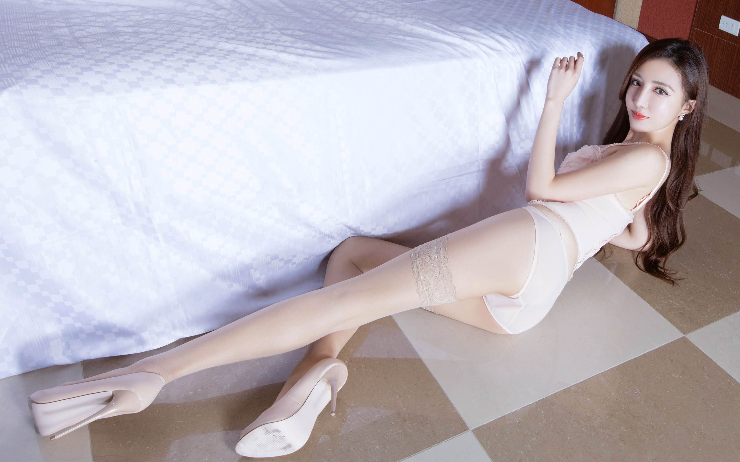 臺灣美腿美女Syuan - 花開有聲 - 花開有聲