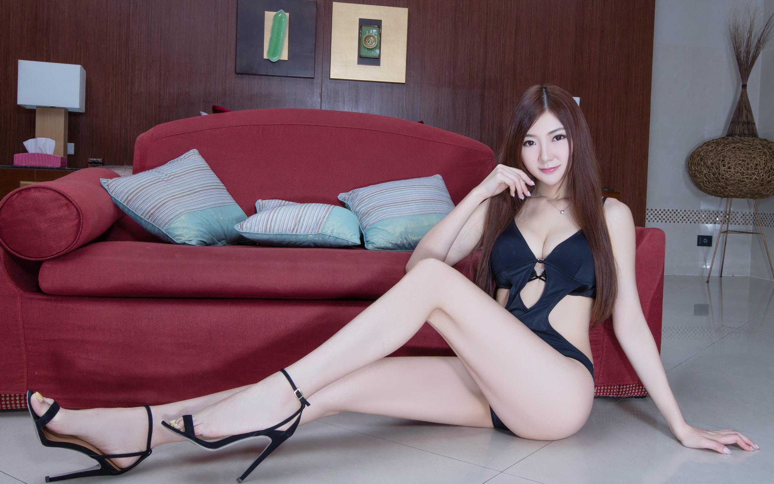 臺灣美腿美女Michelle - 花開有聲 - 花開有聲