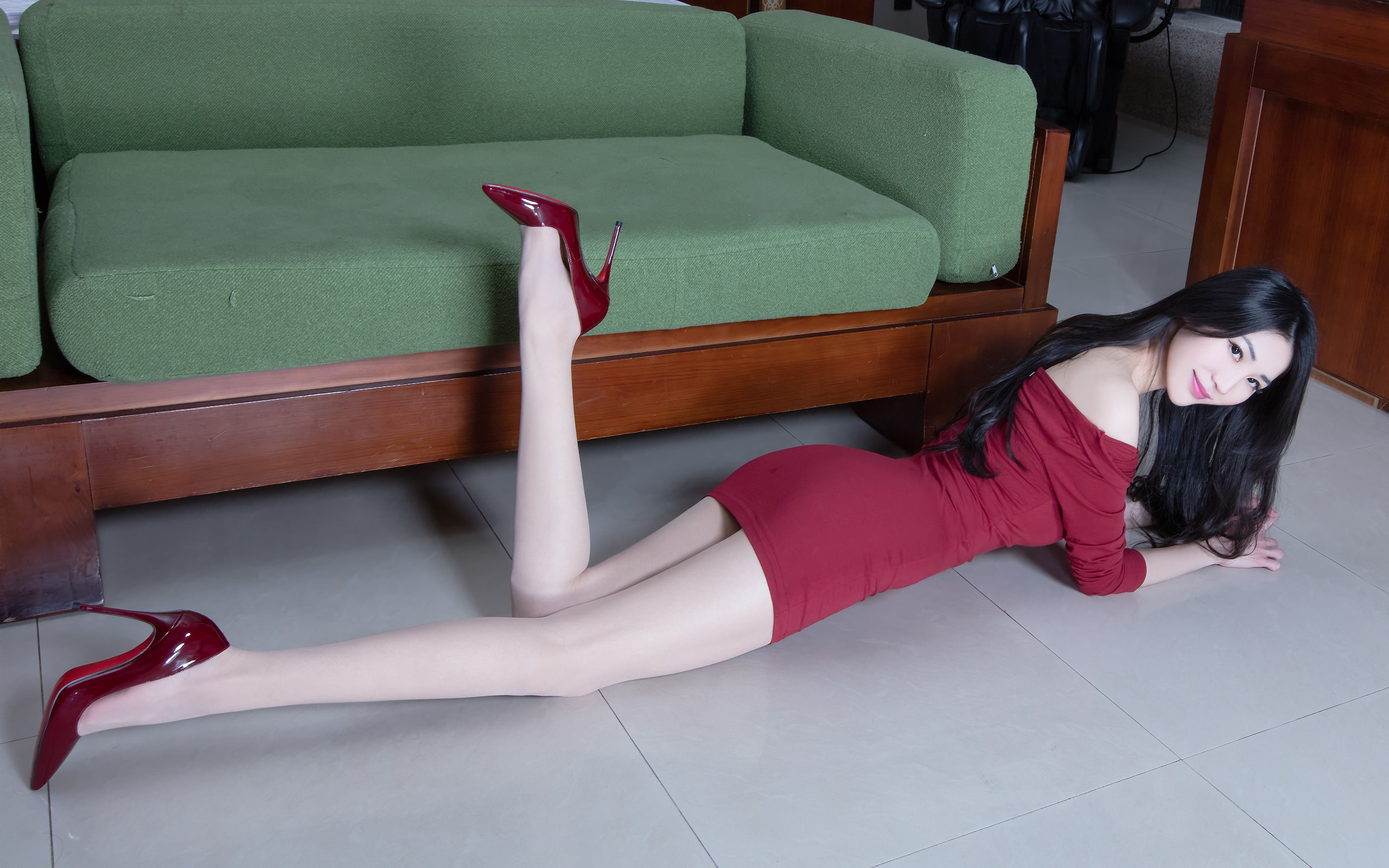臺灣美腿美女Perri - 花開有聲 - 花開有聲