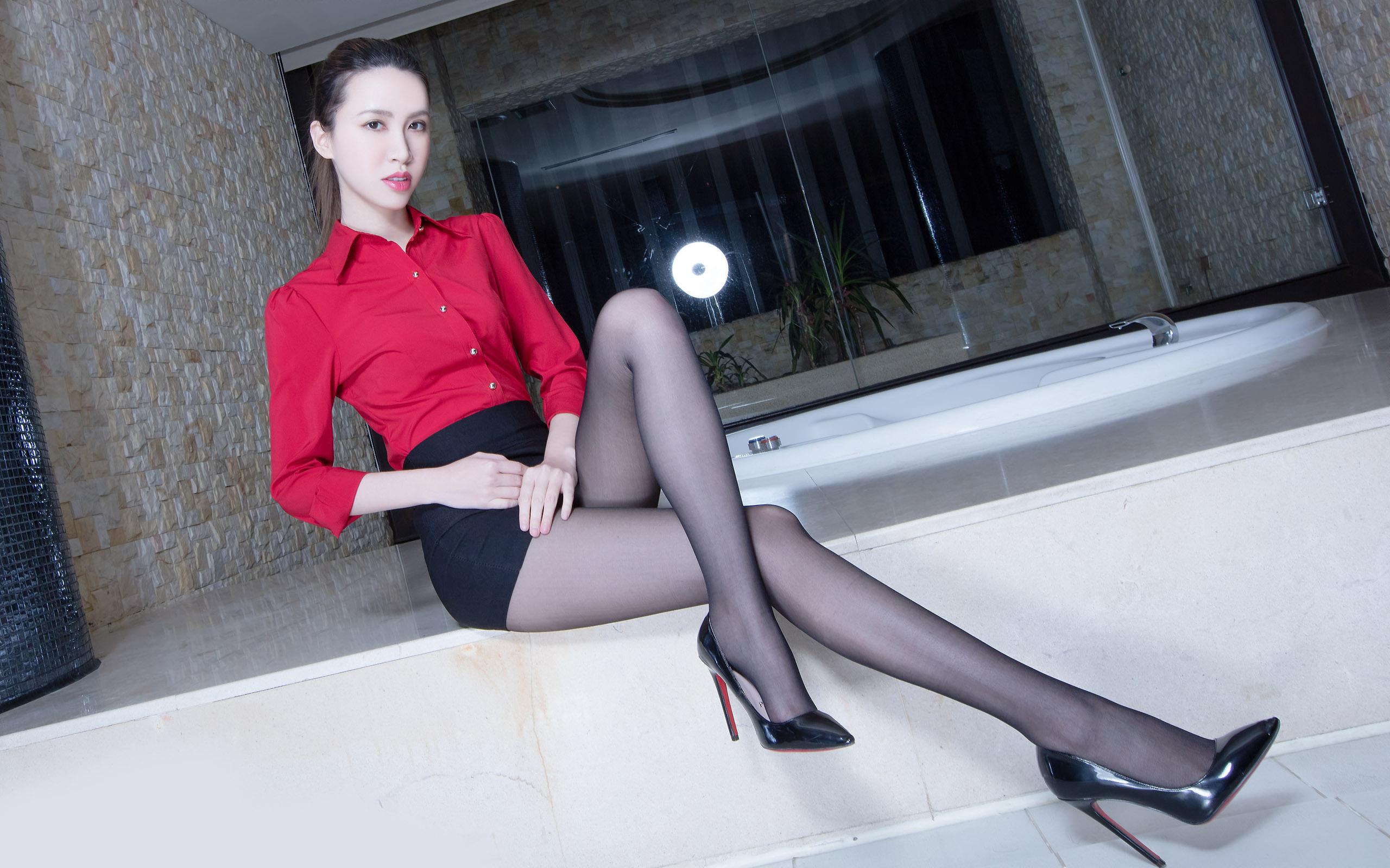 臺灣美腿美女Stephy1 - 花開有聲 - 花開有聲
