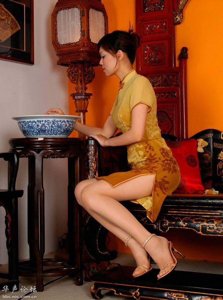 优雅旗袍  漂亮女人 - 花開有聲 - 花開有聲