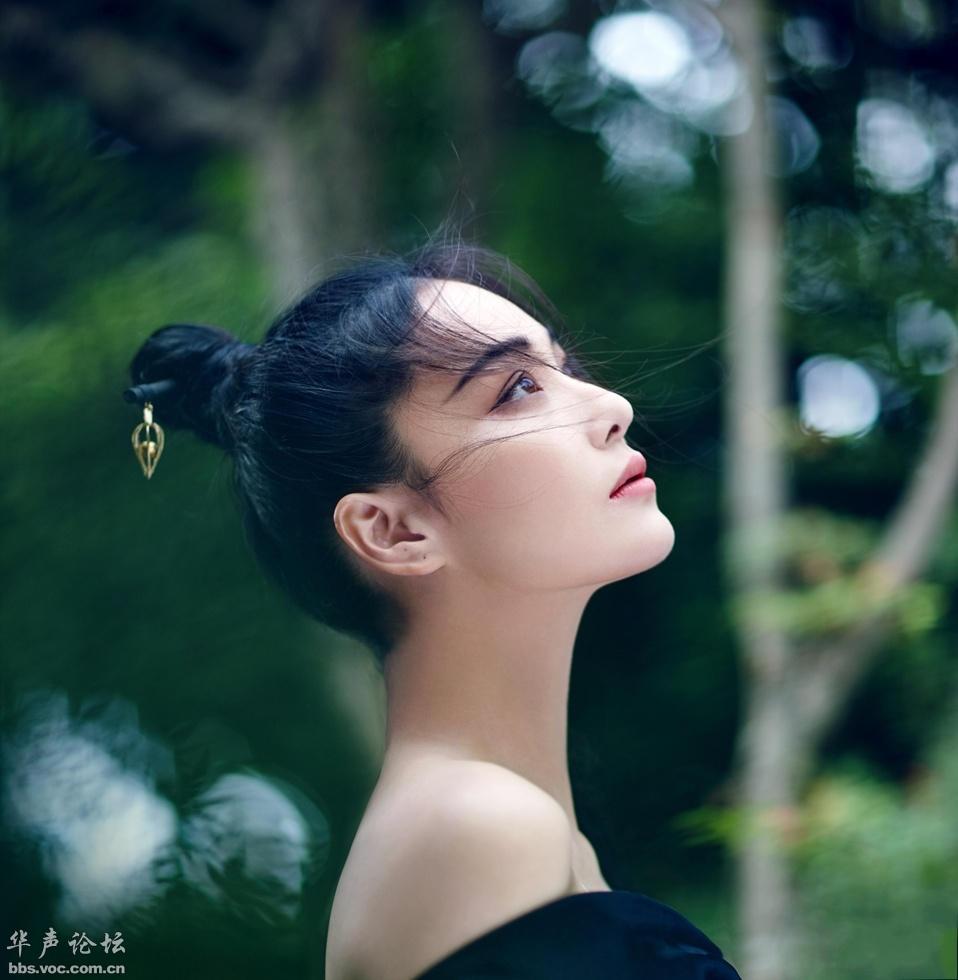 美女明星 张馨予(七) - 花雕美图苑 - 花雕美图苑