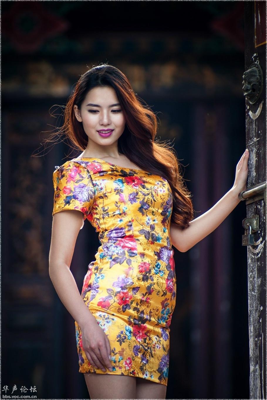 气质少妇  美丽旗袍 - 花開有聲 - 花開有聲