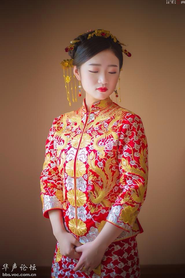 [贴图]漂亮的新娘 迷人的酒窝 【2016·11·07】