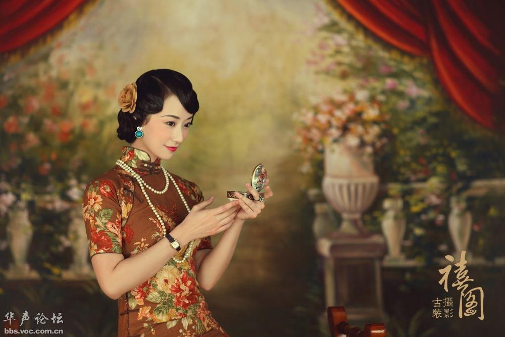 【南京禧阁】[子明 老上海复古旗袍系列]套系出来啦