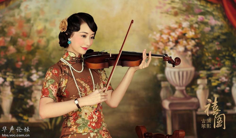 【美图欣赏】[子明 老上海复古旗袍系列]套系出来啦 - 天际夕阳 - 天际夕阳的博客