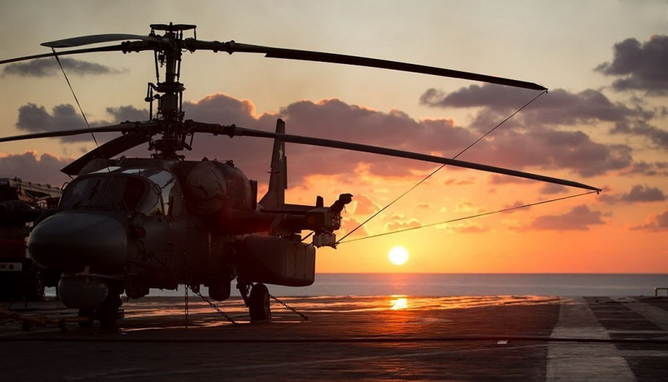 Ka-52K & kuznetsov