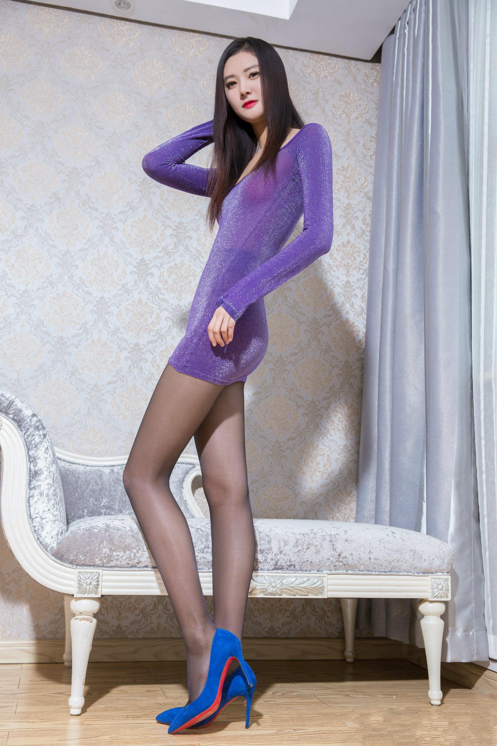爱秀美腿秀-子沫Moira1 - 花開有聲 - 花開有聲