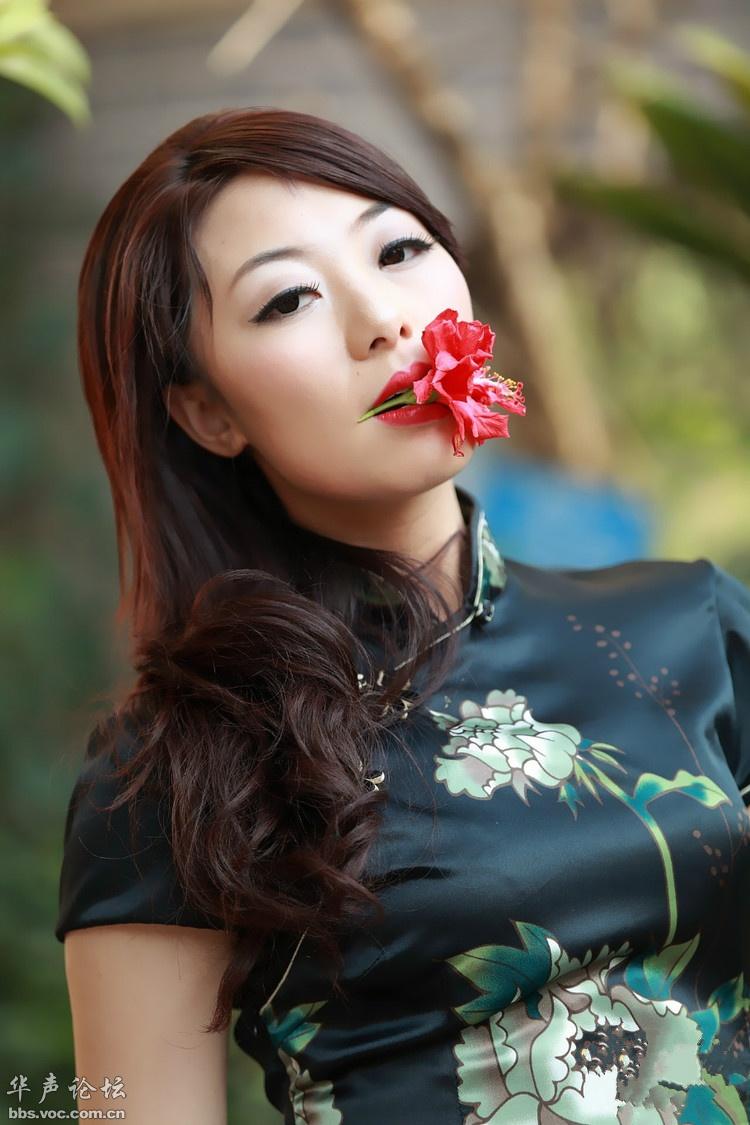 旗袍佳人 - 花開有聲 - 花開有聲