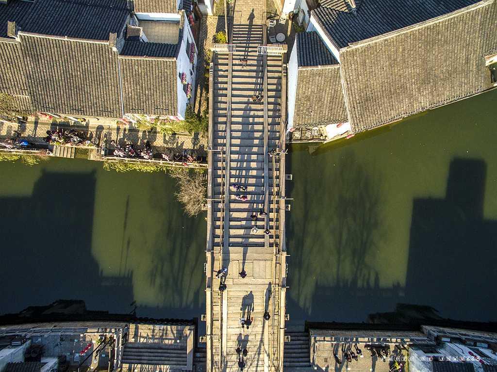 【空中鸟瞰】无锡清名桥、古运河、水弄堂 - 今日延安 - 今日延安影视音画博客