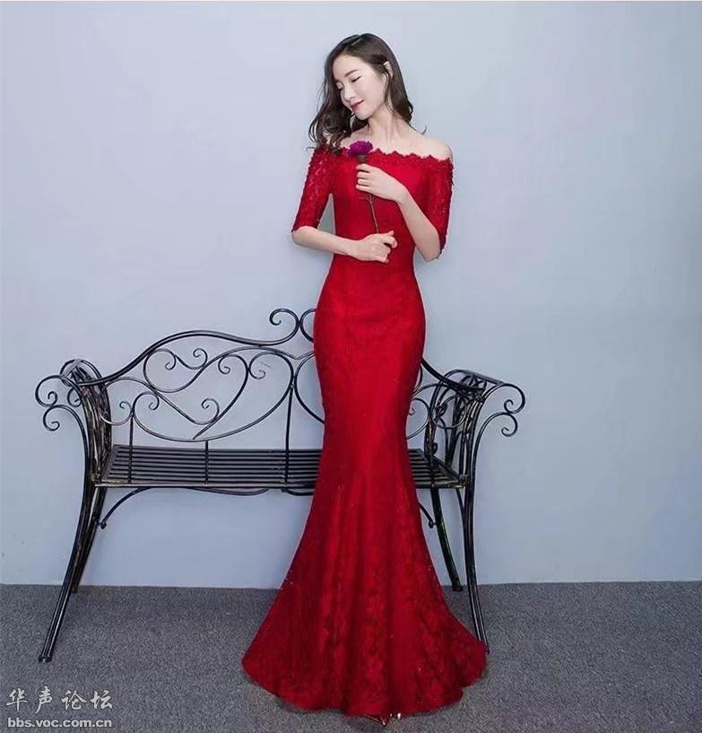 [贴图]红衣美女