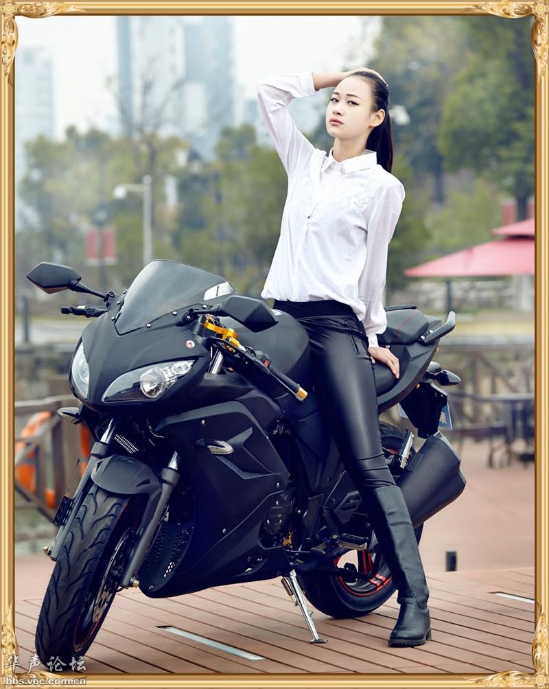 摩托车美女[贴图]