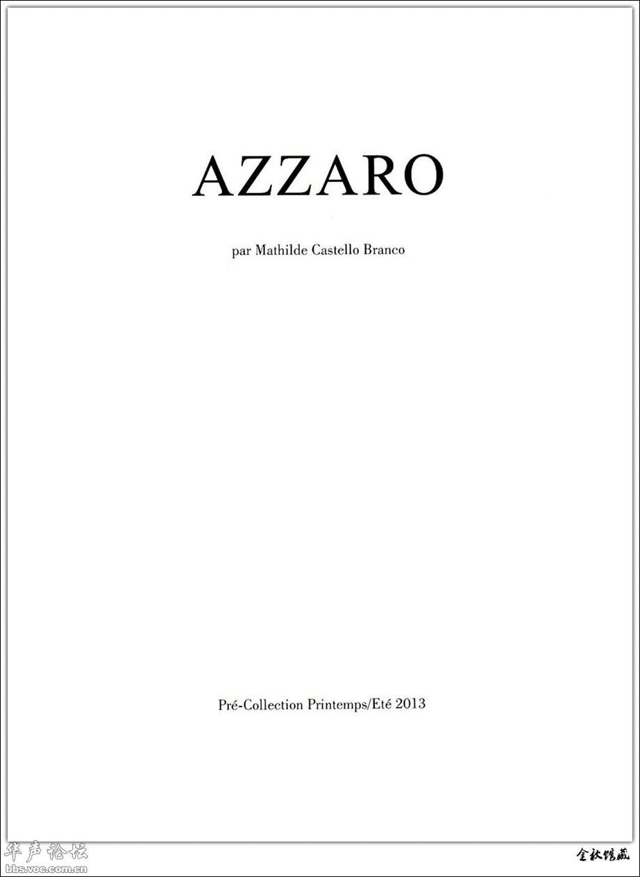 法国浪漫 AZZARO FEMME[18P][贴图]