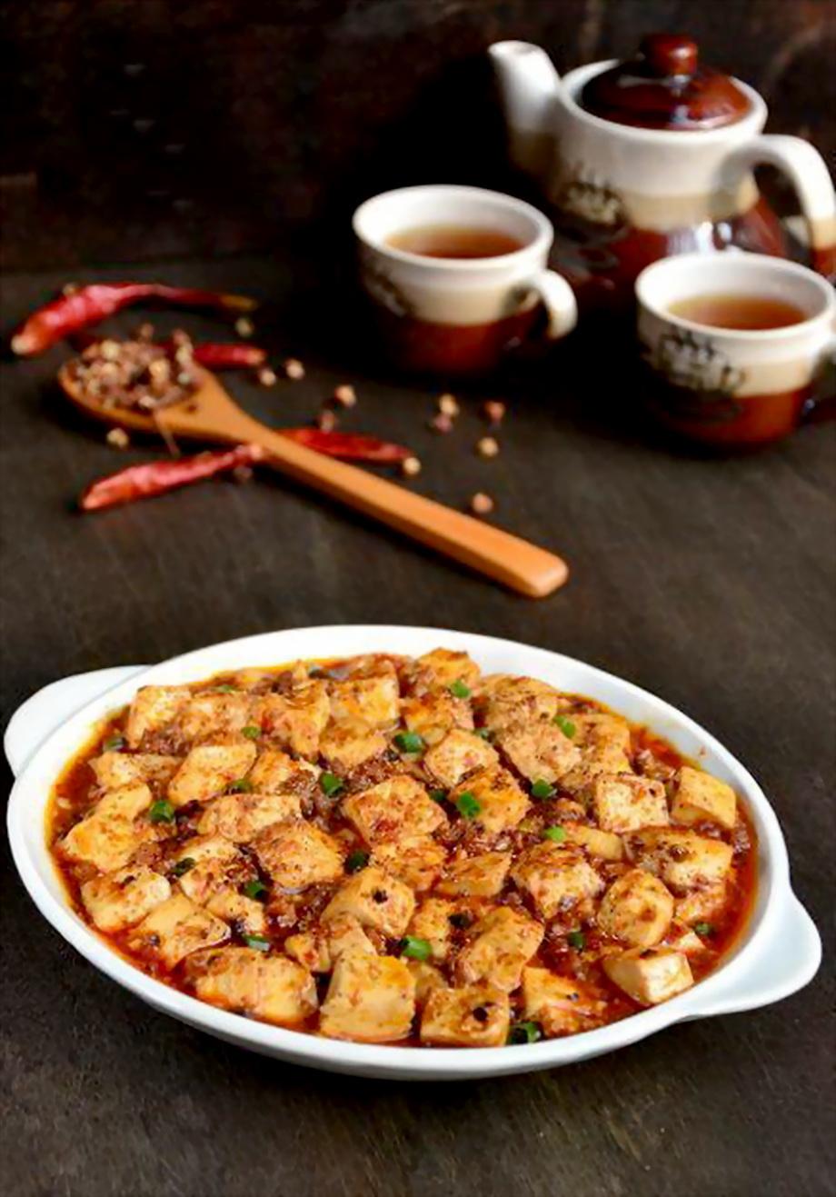 舌尖上的美味 经典的麻辣过瘾川菜 麻婆豆腐