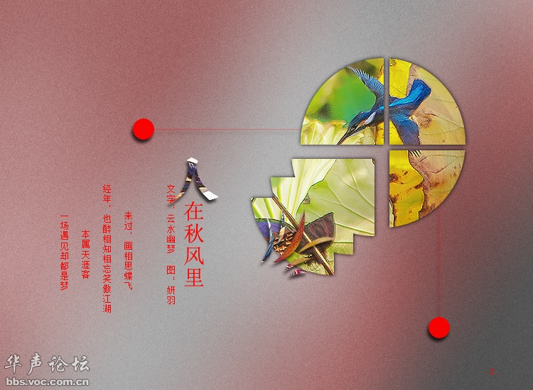 图文音画(人在秋风里) - 阳子 - ab30208cdefg的博客