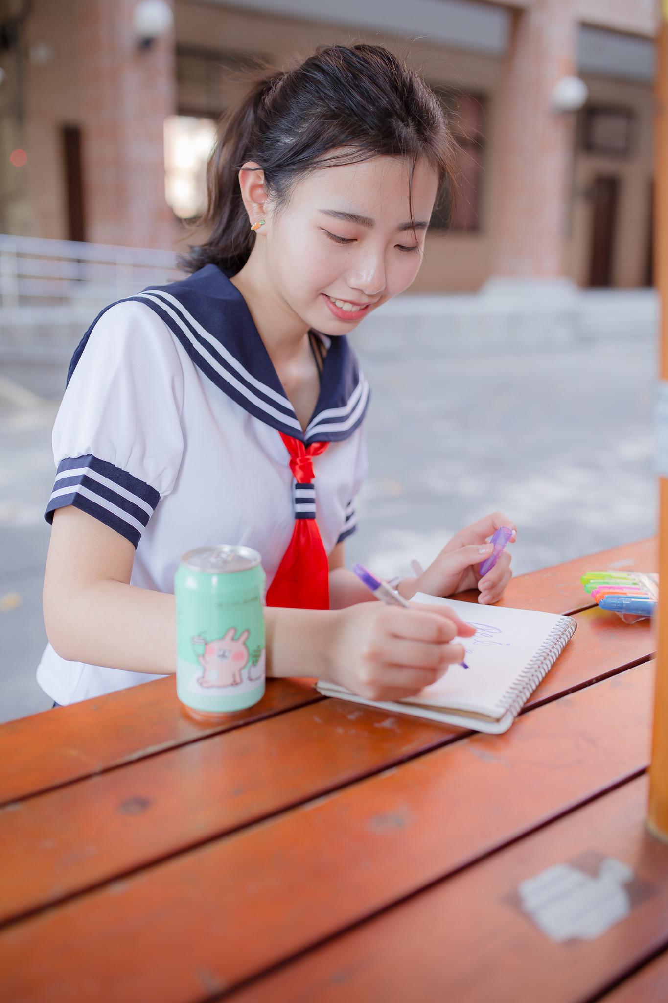 ★制服女生……[春意阑珊  刘佩珊 117p]……第226辑