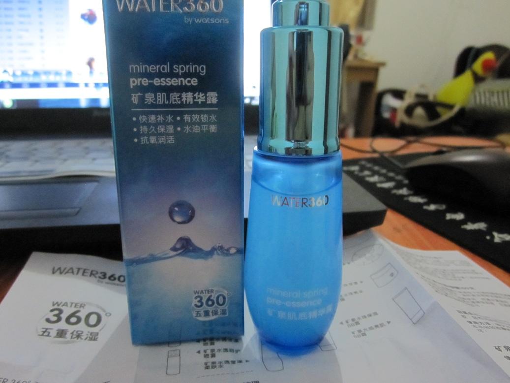 WATER360 BY WATSONS Water360礦泉臻潤水珠面膜 | 香港屈臣...